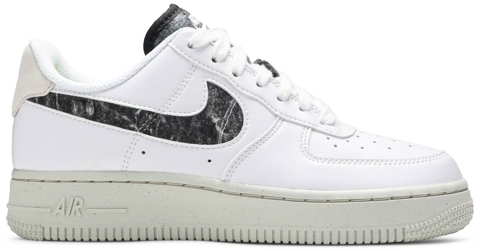 giay nike air force 1 07 se recycled wool pack white black da6682 100