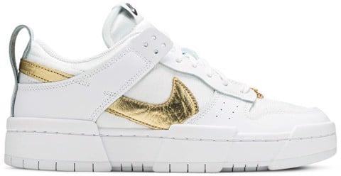 Nike Wmns Dunk Low Disrupt 'White Metallic Gold' DD9676-100