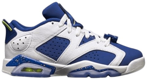 giay nike air jordan 6 low bg ghost green 768881 106