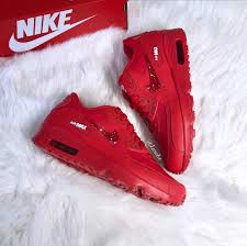 Nike Air Max 90 Leather GS 'University Red' 833412-606