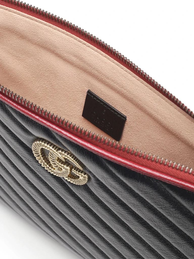 Túi Gucci GG Marmont Quilted Leather Pouch 573814 0OLFX 8277