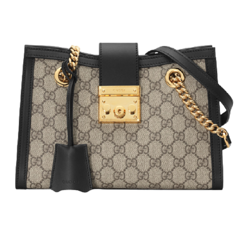 tui gucci padlock small gg shoulder bag 498156 khnkg 9769