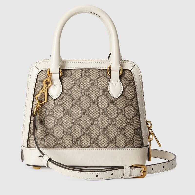 Túi Gucci Horsebit 1955 Mini Top Handle Bag In GG Supreme 640716 92TCG 9761