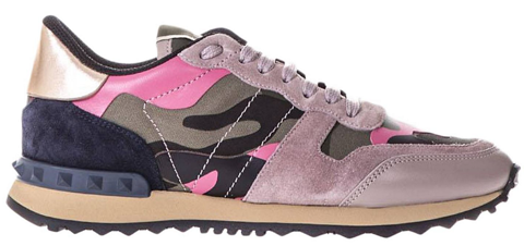 giay valentino women s rockstud camouflage sneakers pw2s0291 tzp 0o6