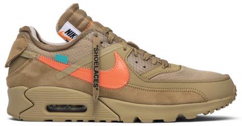 Nike Off-White x Air Max 90 'Desert Ore' AA7293-200