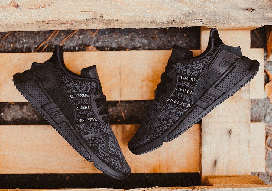 Adidas Originals Equipment Eqt Cushion Adv 'Triple Black' BY9507