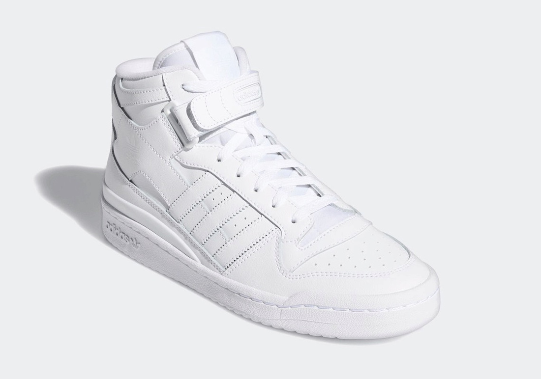 Giày Adidas Forum Mid Triple White FY4975