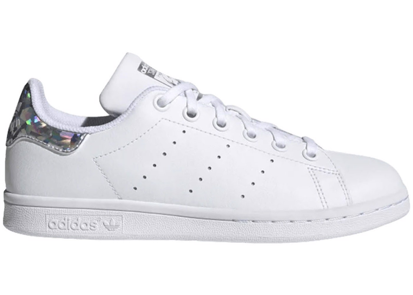 Adidas Stan Smith Sparkly Heel White EE8483