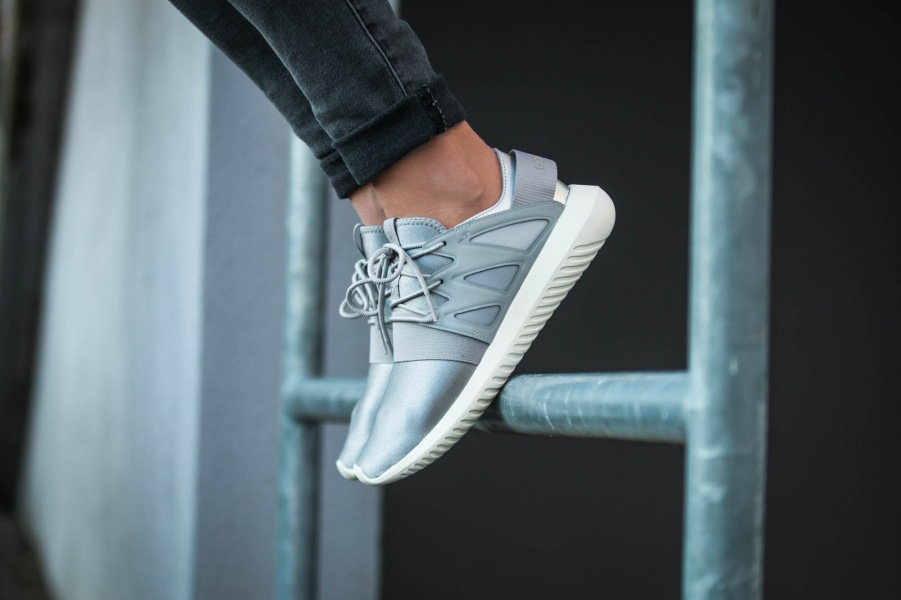 – Grey Viral S75907 W Tubular Adidas Shoes Authentic tqXwvpX