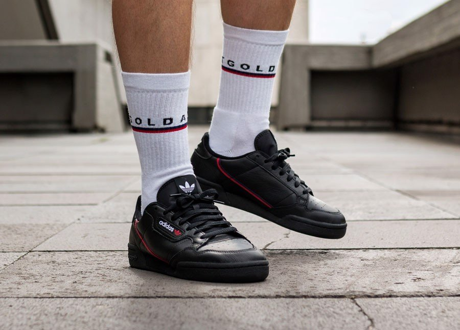 Adidas Continental 80 Rascal 'Core Black' B41672