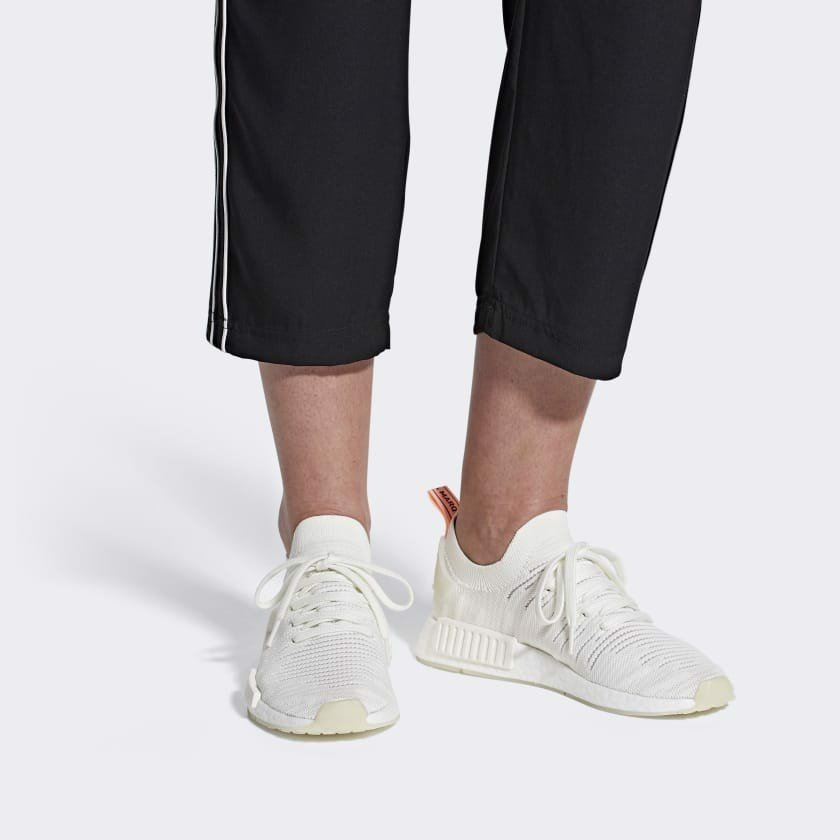 Adidas NMD R1 STLT Running White Clear Orange B37655
