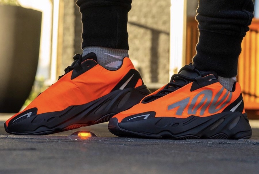 Adidas Yeezy Boost 700 MNVN 'Orange' FV3258