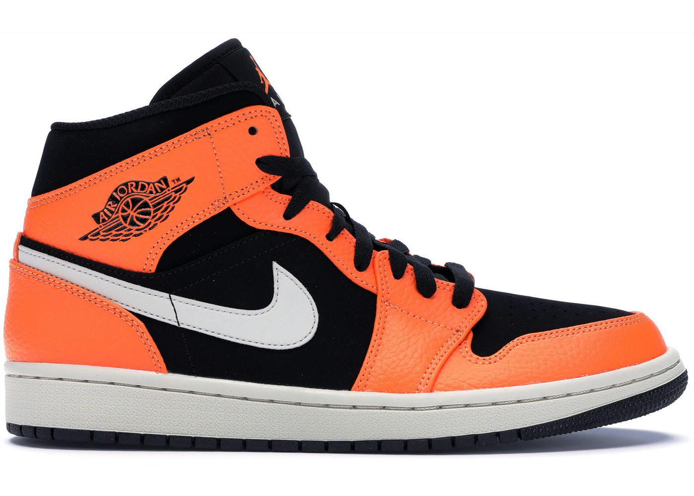 Nike Air Jordan 1 Mid Black Cone 554724-062