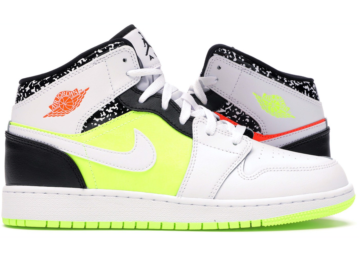 Nike Air Jordan 1 Mid Composition Notebook 554725-870