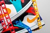 Nike Air Jordan 1 Mid Bred Multi-Color 554724-125