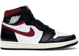 Nike Air Jordan 1 Retro High Black Gym Red 555088-061
