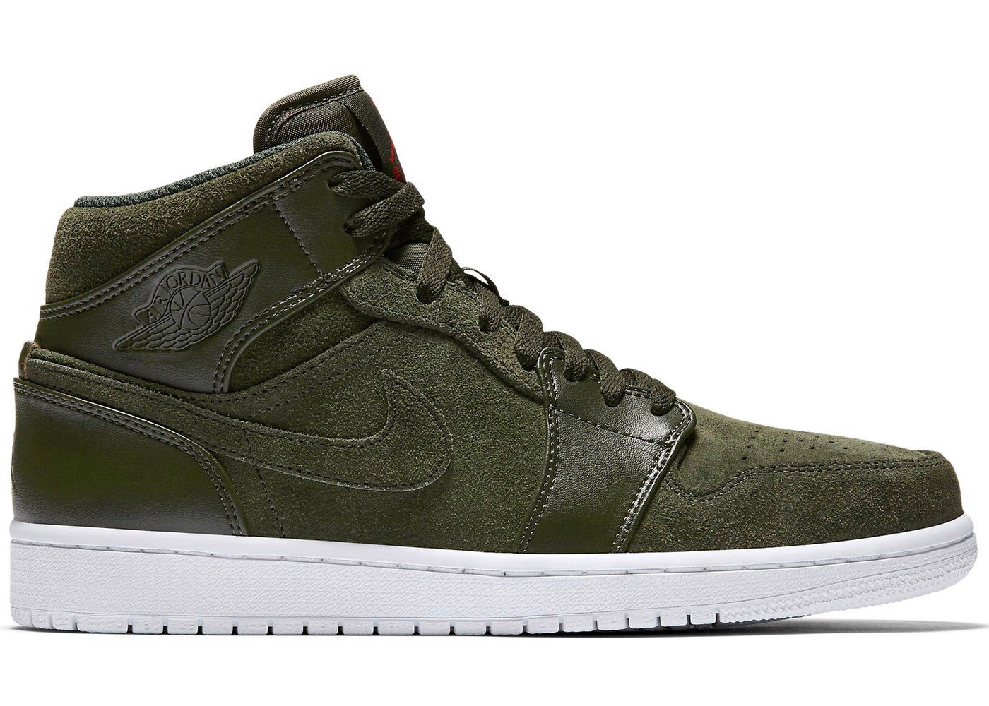 Nike Air Jordan 1 Retro Mid Sequoia 554724-302
