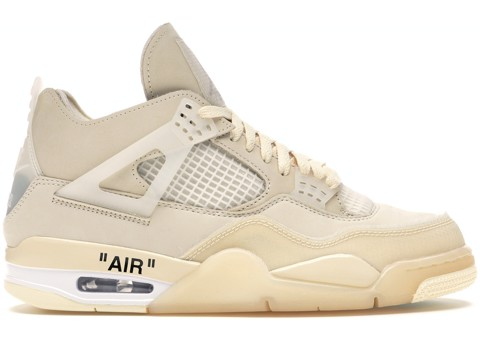 Nike Air Jordan 4 Retro Off-White Sail CV9388-100