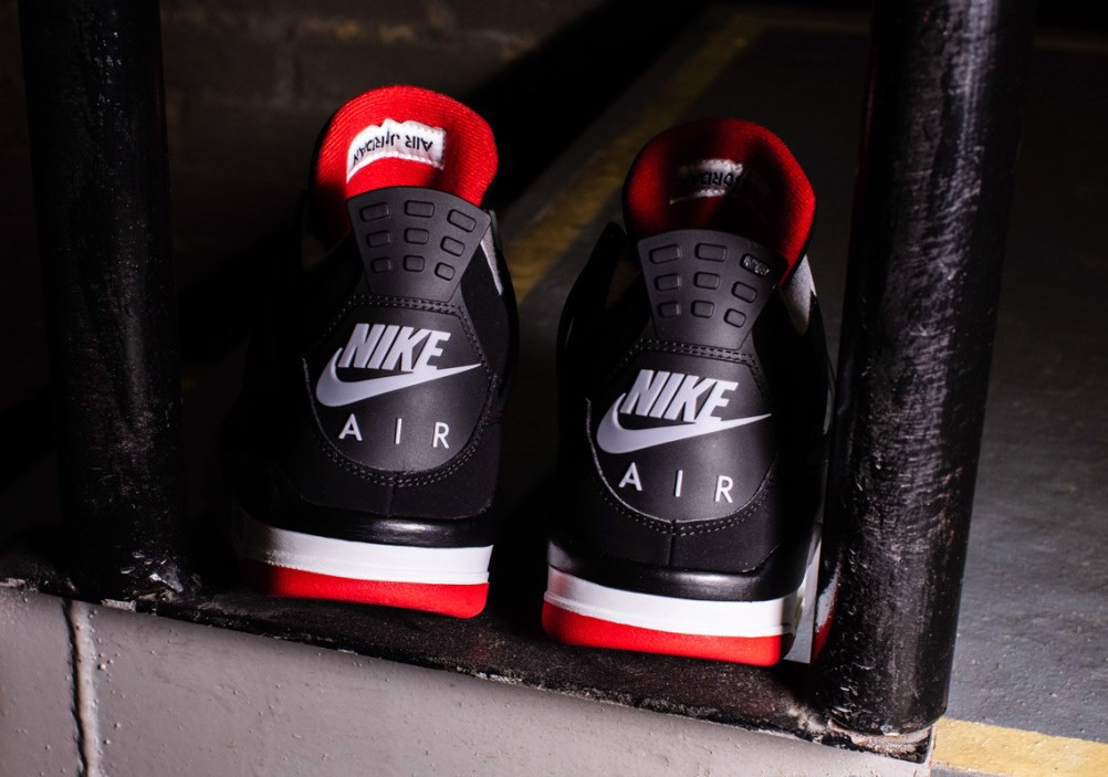Nike Air Jordan 4 Retro OG 'Bred' 2019 308497-060