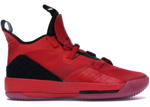 Nike Air Jordan 33 XXXIII University Red  AQ9244-600