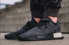Adidas NMD R1 Primeknit 'Pitch Black' AQ1248