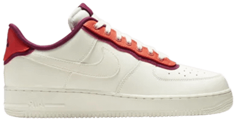 giay nike air force 1 low se double layer orange berry ao2439 101