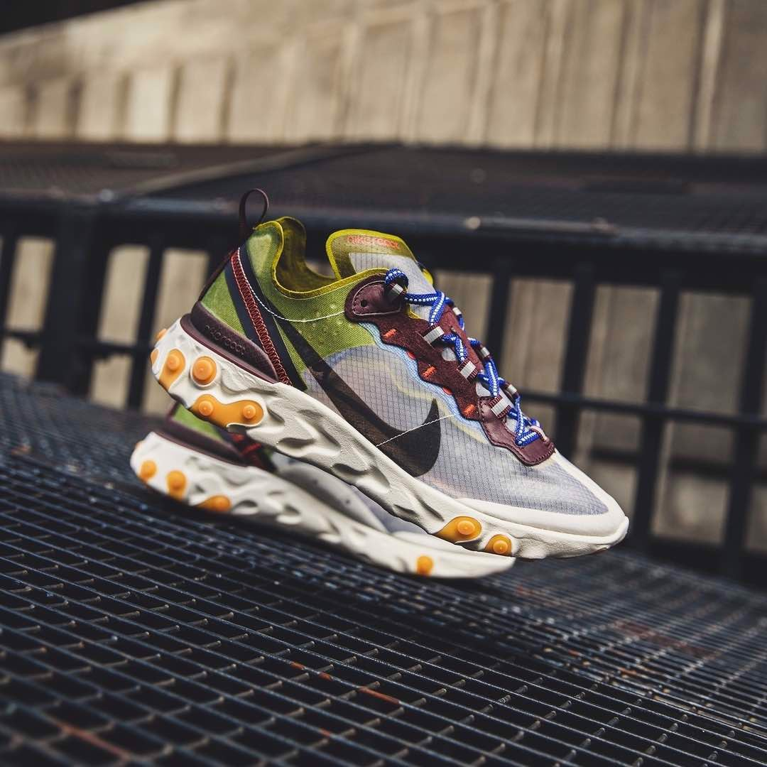 Nike React Element 87 Moss AQ1090-300