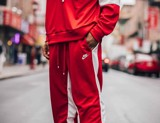 Quần Nike Air NSW track pants red AR1831-657