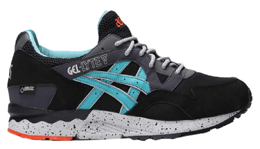 Giày Asics Gel Lyte V Black Latigo Bay C541N 9089
