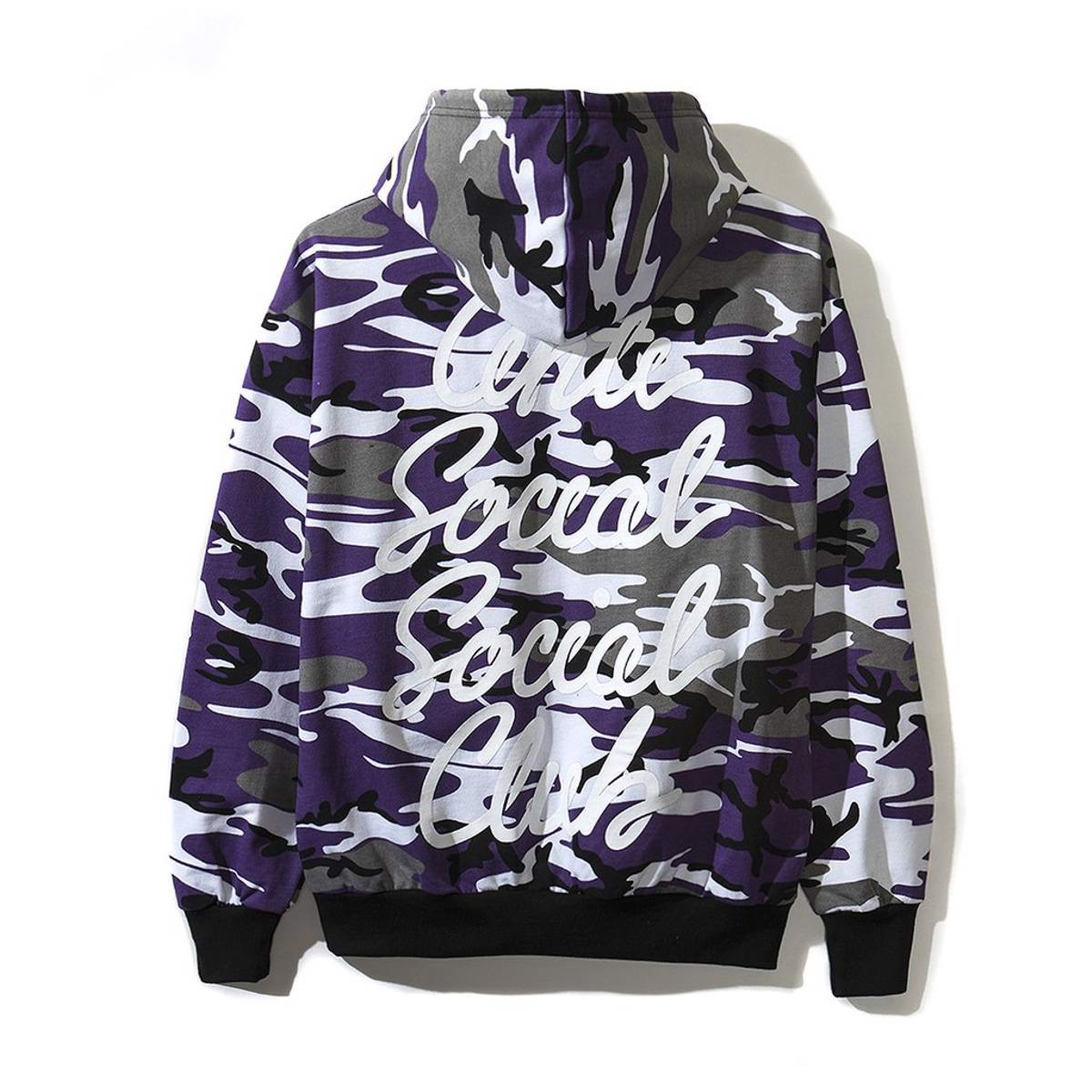 Áo Anti Social Social Club Purple Camo Hoodie
