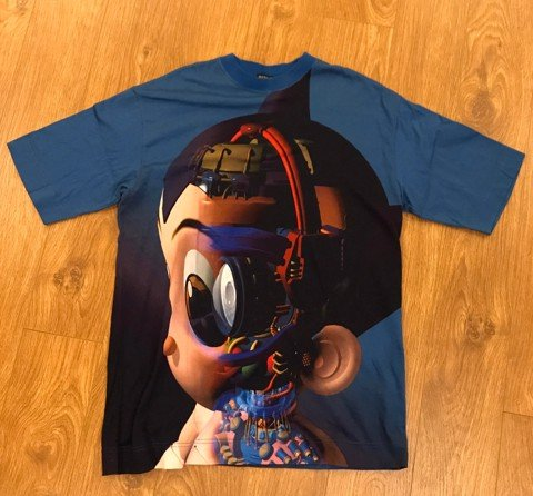Astroboy Face X-Ray T-Shirt