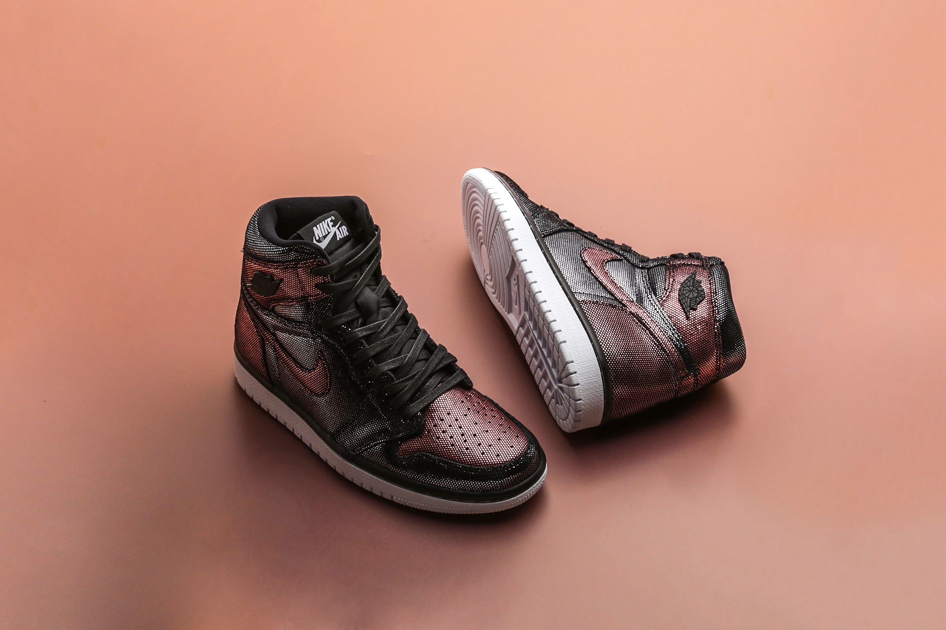 Nike Jordan 1 Retro High Fearless Metallic 'Rose Gold' CU6690-006