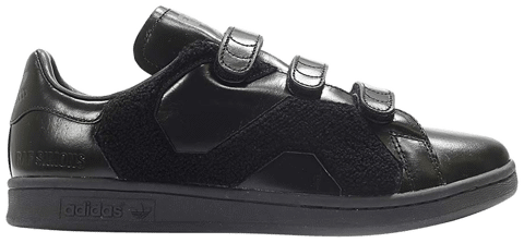 Adidas Raf Simons x Stan Smith Comfort Badge 'Core Black' BB6886