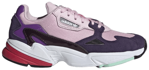 Adidas Wmns Falcon 'Clear Pink Purple' BD7825