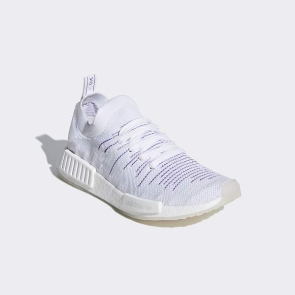 Adidas Wmns NMD_R1 STLT PK 'Cloud White Purple' BD8017