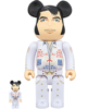 Bearbrick Elvis Presley 100% & 400% White
