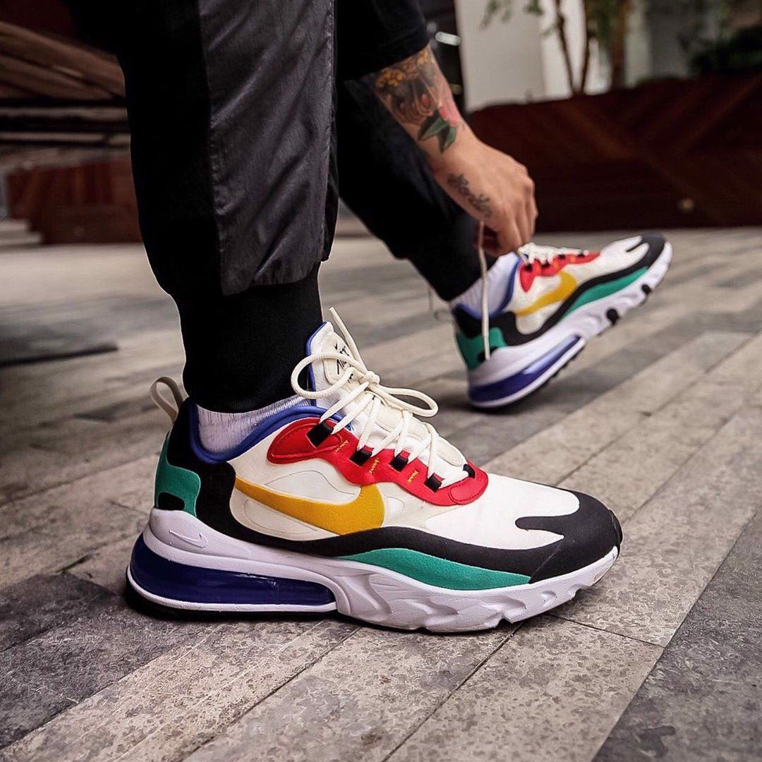 Nike Air Max 270 React GS 'Bauhaus' BQ0103-001