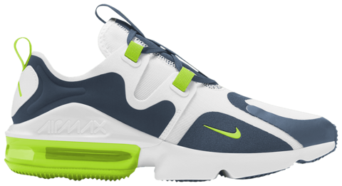 giay nike air max infinity white ghost green bq3999 104