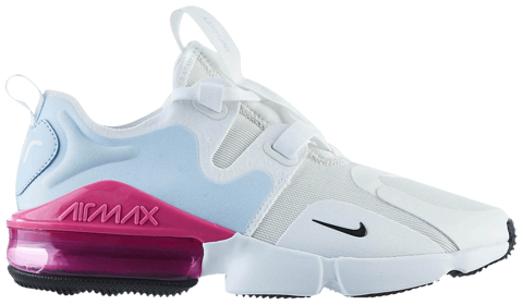 giay nike wmns air max infinity white fire pink bq4284 102