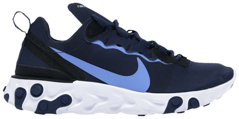 giay nike react element 55 midnight navy bq6166 400