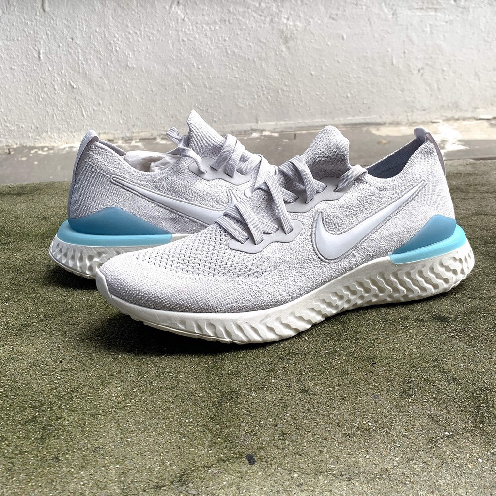 Nike Epic React Flyknit 2 'Vast Grey Blue Lagoon' BQ8928-006