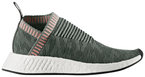Adidas NMD CS2 Primeknit Trace Green' BY8781