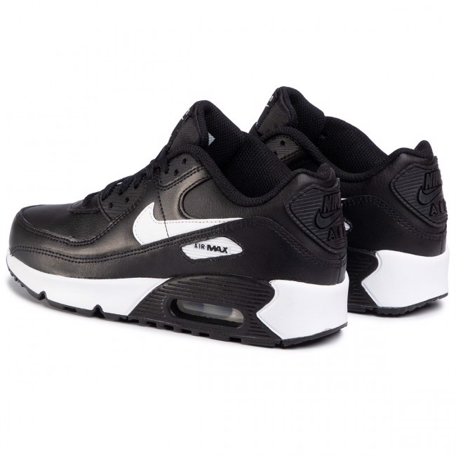 Nike Air Max 90 GS 'Black White' CD6864-010
