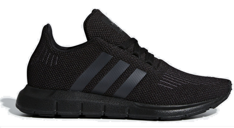 giay adidas swift run triple black cg6268