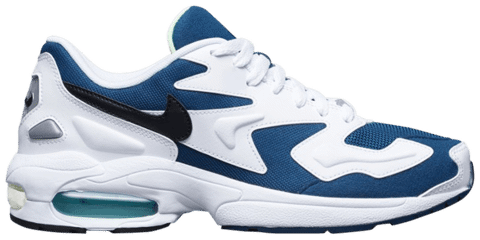 giay nike air max 2 light teal white ci3703 400