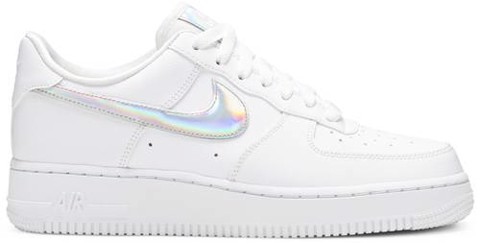 Nike Wmns Air Force 1 Low 'Iridescent Swoosh' CJ1646-100