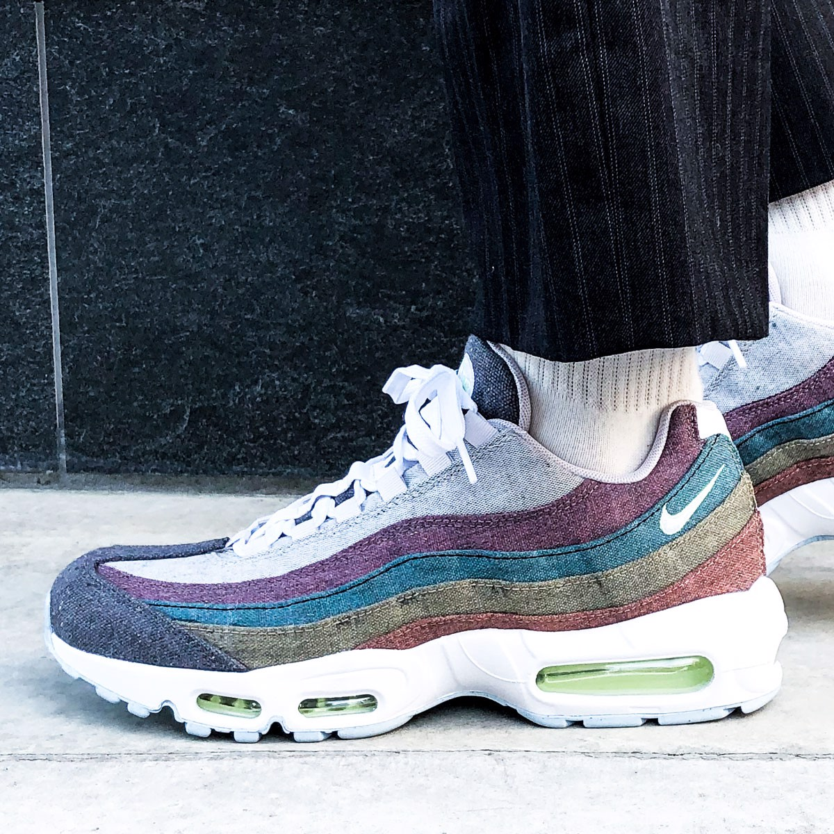 Giày Nike Air Max 95 Recycled Canvas Pack CK6478-001