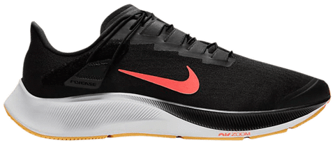 Nike Air Zoom Pegasus 37 FlyEase 'Black Bright Mango'  CK8474-005