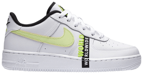 Nike Air Force 1 LV8 1 GS 'Worldwide Pack Barely Volt' CN8536-100
