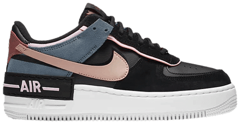 Nike Air Force 1 Shadow 'Black Light Arctic Pink' CU5315-001